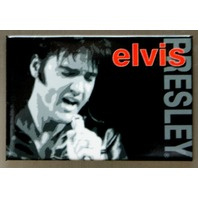 Elvis Presley The King FRIDGE MAGNET Music Movie Icon 1950's Singer Diner E10