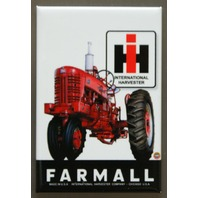 International Harvester IH Farmall Tractor FRIDGE MAGNET Farm Country Living F7