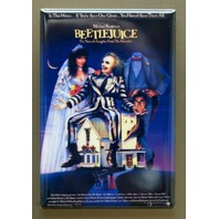 Beetlejuice Refrigerator FRIDGE MAGNET Movie Poster 80's Fantasy Sci Fi Film M15