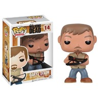 Walking Dead Daryl Dixon Cross Bow Pop Vinyl TV Series Toy Figure Gift 14 Funko