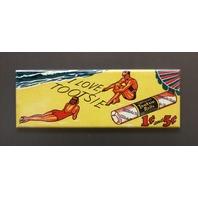 I Love Tootsie Rolls Refrigerator Fridge Magnet Vintage Styled Ad Candy LC8