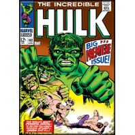 Incredible Hulk 102 Cover Fridge refrigerator magnet Marvel Comic book art E12