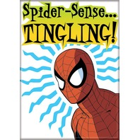 Spiderman spider sense tingling Marvel comic book superhero FRIDGE MAGNET G14