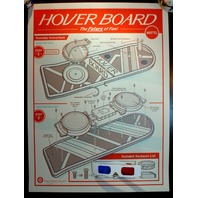 Mattel Hover Board Back To The Future 3D Poster Print By Clark Orr