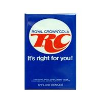 RC Royal Crown Cola Refrigerator Fridge Magnet Soda Pop Vintage Styled Ad