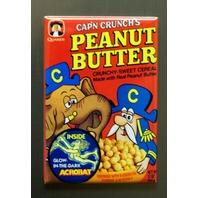 Cap'n Crunch Peanut Butter Captain Crunch Cereal Refrigerator Fridge Magnet E7