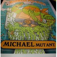 Garbage Pail Kids Michael Mutant Signed Art Print Poster TMNT NinjaTurtles GPK