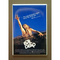 Evil Dead Refrigerator Fridge Magnet Movie Poster Horror Film Bruce Campbell