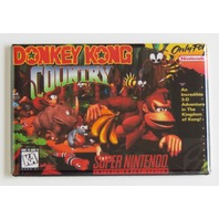 Donkey Kong Country Fridge refrigerator MAGNET Super Nintendo SNES Video Game
