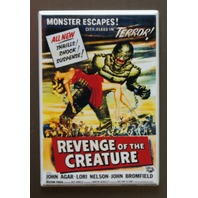 Revenge Of The Creature Refrigerator Fridge Magnet Movie Poster Sci Fi Swamp