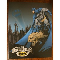 Batman The Dark Knight DC tin metal sign poster comic utility belt bat signal D52