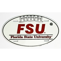 Florida State Seminoles Aluminum Football License Sign Man Cave NCAA FSU F10