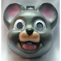 Giant Mouse Head Halloween Mask Gray Mice