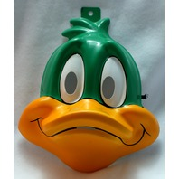 Tiny Toons Plucky Duck Adult Halloween Mask Looney Toons 1990's Cartton