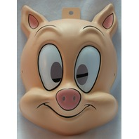 Tiny Toons Hampton J Pig Warner Bros Halloween Mask Porky Pig