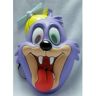 Tiny Toons Dizzy Devil Tazmanian Devil Taz Halloween Mask Looney Toons