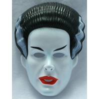 Vintage The Bride Of Frankenstein Halloween Mask Rubies Universal Monsters Y076