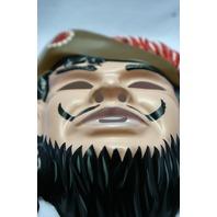 Walt Disney Captain Hook Vintage Halloween Mask Rubies  Pirate Peter Pan Y036