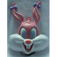Tiny Toons Babs Bunny Halloween Mask PVC Warner Bros Bugs Pink Cartoon Y081