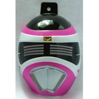 Pink Power Ranger Halloween Mask PVC Near Vintage 1999 Rubies Saban Bandai Y041