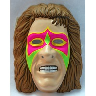 WWF Ultimate Warrior Vintage Halloween Mask WWE WCW NWO PVC Wrestling Y044