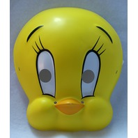 Looney Tunes Tweety Bird Vintage Halloween Mask Rubies 1994 Birthday Party PVC