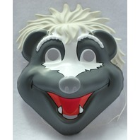 Jim Henson's Animal Show Stinky Skunk Vintage Halloween Mask Henson PVC Y019