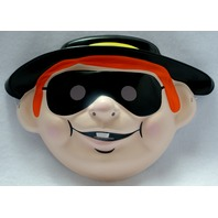 Mcdonalds Hamburglar Halloween Mask Near Vintage 1997 PVC Pop Art 1990s Y013