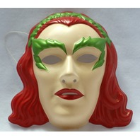 Batman Forever Poison Ivy Halloween Mask Near Vintage Rubies PVC DC Comics Y012