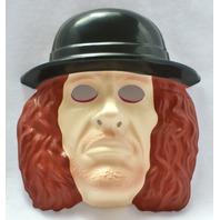 WWF The Undertaker Vintage Halloween Mask 1993 WWE Wrestling WCW PVC