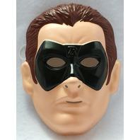 Batman Forever Robin Halloween Mask Near Vintage 1995 Rubies PVC DC Comics Y015
