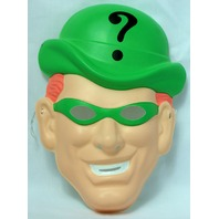DC Comics The Riddler Vintage Halloween Mask Batman Villain Costume Rubies Y129