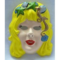 Vintage Mermaid Halloween Mask Art Deco Classic Style Y092