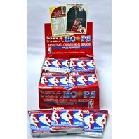 1990-91 NBA Hoops Series 2 Basketball Cards 3 PACKS Jordan Sports