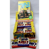 3 Packs of Vintage Topps New Kids On The Block Trading Cards NKOTB 1989 Wax Pack