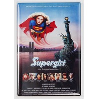 Supergirl Movie Poster FRIDGE MAGNET refrigerator Super hero advertisement S30