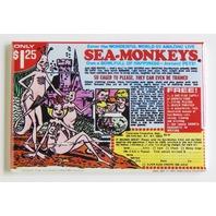 Sea Monkeys Instant Comic Book ad advertisment refrigerator FRIDGE MAGNET G1