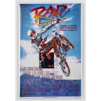RAD BMX bike 80s movie poster FRIDGE MAGNET reproduction S23