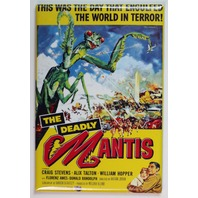 The deadly Mantis sci fi suspense science fiction movie poster FRIDGE MAGNET S2