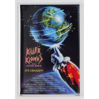 Killer Klowns from outer space clown movie poster FRIDGE MAGNET Sci FI Horror