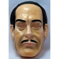 Vintage Gomez Addams Family Halloween Mask Rubies Monster Classic Tv Show