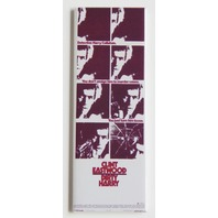 Clint Eastwood Dirty Harry FRIDGE MAGNET Movie Marquee Action Film LA1