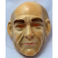 Star Trek Jean-Luc Picard Vintage Halloween Mask Rubies 1992 PVC Enterprise Y110