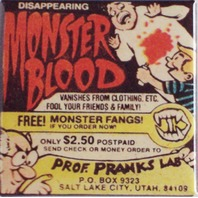Monster Blood comic book magazine ad pranks lab Utah retro FRIDGE MAGNET M2