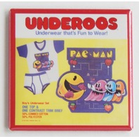 Pacman Pac man Underoo package FRIDGE MAGNET retro arcade video game cartoon K5