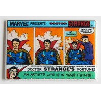 Dr Strange Marvel Presents FRIDGE MAGNET Doctor Stranges fortune No smoking C9