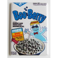 Boo Berry Ghost cereal box FRIDGE MAGNET retro 80s repro halloween