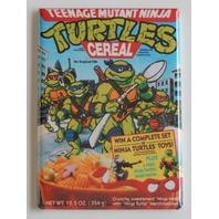 TMNT cereal box FRIDGE MAGNET teenage mutant ninja turtles retro 90s repro