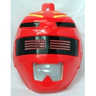 Red Power Ranger Halloween Mask PVC Near Vintage 1999 Rubies Saban Bandai Y014