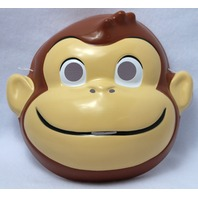 Curious George Halloween Mask Rubies Costume Cartoons Vintage Style Y131